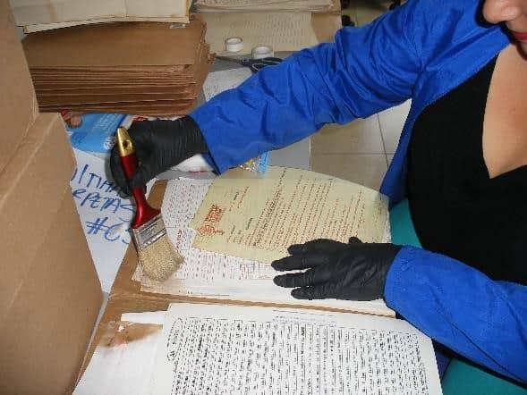 gestión documental - restauración documental y preservación de documentos